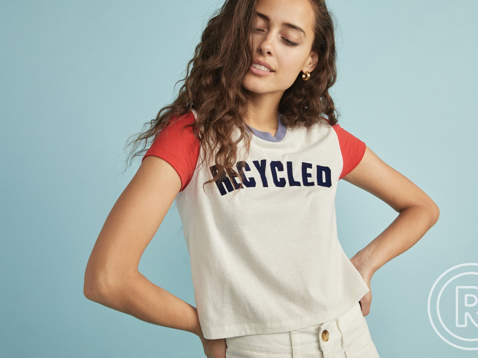 E-SPUN Recycled Graphic Tee at Marine Layer